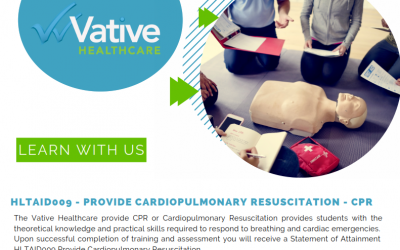 HLTAID009 – PROVIDE CARDIOPULMONARY RESUSCITATION – CPR